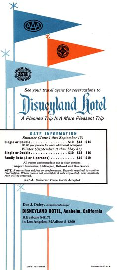Vintage Disneyland Hotel                                                       …