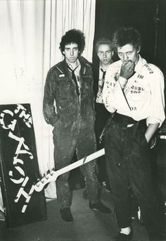 The Clash, 1976 by Sheila Rock
