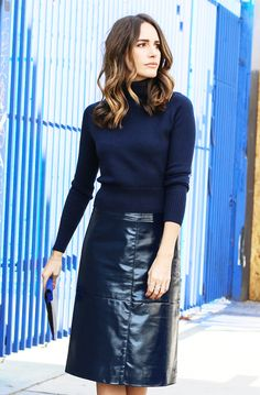 Louise Roe Style Tip: Know your silhouette. Instead of fabrics and prints, focus on the cut and shape of a garment. // cc: @louisevroe
