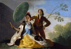 FranciscoGoya: The Parasol  [1777]