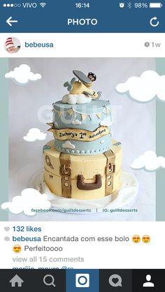 ideia de bolo cenografico e topo de bolo