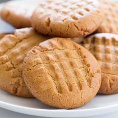 Crunchy Gluten Free Peanut Butter Cookies | Gluten Free on a Shoestring