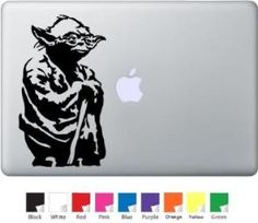 Yoda for Macbook, Air, Pro or Ipad - http://tulip-ego.com/laptop-and-notebook-computer-accessories/yoda-for-macbook-air-pro-or-ipad/