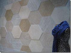 large format hexagonal tile - Google Search