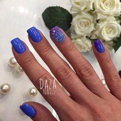 Bright gradient nails, Bright summer nails, Caviar nails, Evening nails…