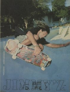 jimmy'z print ads | Jimmy'z Clothing - Dave Duncan Ad (1988)