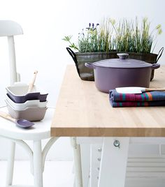 With another year ahead of us, we have to admit we are quite excited for what lies ahead at Le Creuset. Here we share a sneak peek of a few new products we have lined up.