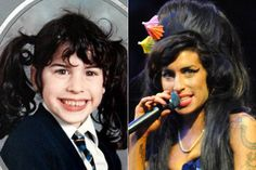 Amy Winehouse's Yearbook Photo