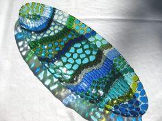 The Glass Art Association of Canada Fused Glass Plates, Fused Glass Art, Stained Glass, Plates And Bowls, Deco, Art Google, Platter, Image, Color