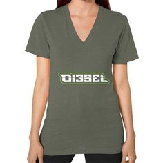 Di3seL Logo Shirt V-Neck (on woman) Shirt