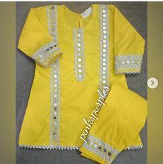 Dress Design Patterns, Baby Girl Dress Patterns, Little Girl Dresses, Girls Dresses, Frock Fashion, Hijab Fashion, Fashion Dresses, New Kurti Designs, Kurti Designs Party Wear