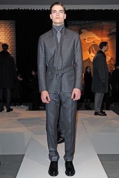 Brioni Men's RTW Fall 2014 - Slideshow