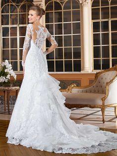 Gardênia 12 - costas #coleçãogardenia #vestidosdenoiva #noiva #weddingdress #bride #bridal #casamento #modanoiva