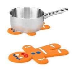 """Podstawka silikonowa """"The Man"""" #słodycze #sweets #cookie #ciastko #ciastko #ciastek #shrek #ciasteczkowy #food #jedzenie #zdrowejedzenie #zdroważywność #supergadgets #kitchen #kuchnia #gotowanie #prezent #prezenty #święta #christmas #dziecko #kids #simple #cooking #dinners #onemarket.pl #balvi"""