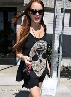 Lauren Moshi Heats Up Hollywood With Fashion Prints #lindsaylohan #celebrities trendhunter.com