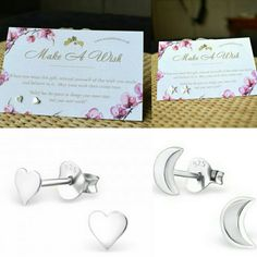 New items added to our MAKE A WISH - Sterling Silver Range ♡♡♡♡