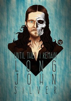 Luke Arnold - Long John Silver art - Black Sails