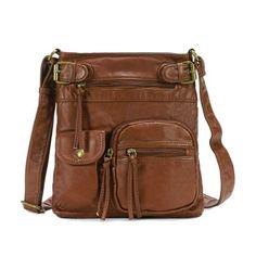 Scarleton Accent Top Belt Crossbody Bag H1833 Top zipper | eNew Style