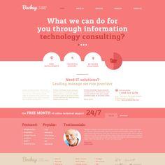 IT Responsive Website Theme