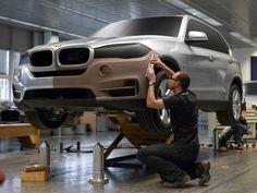OG  2013 BMW X5 Mk3 - Type F15   Full-size styling clay model © BMW AG