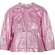 Adidas by Stella McCartney Studio lamé jacket