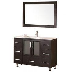 Bathroom Vanity 48 W X 18 D