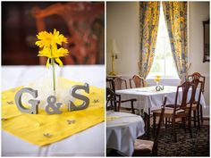Weddings // Gibson + Spain Tie the Knot at The Boxwood Inn Newport News, Virginia, Gold, Silver, Yellow, Pewter