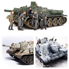 Cу-122. Средняя по массе советская самоходно-артиллерийская установка (САУ) класса штурмовых орудий . Масштаб модели: 1/35 Длина в собранном виде: 207 мм. Особенности модели: - набор пигментов; - реалистично воспроизведенная текстура металла и сварных швов; - люки водителя и мехвода можно собрать в открытом и закрытом положении; - семь фигурок танкистов, включая женщину танкистку; - несколько вариантов декалей.