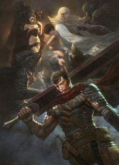 Angels Warrior, Fenghua  Zhong on ArtStation at https://www.artstation.com/artwork/angels-warrior