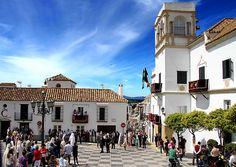 Plaza de la Iglesia (San Roque, Andalucía, España)