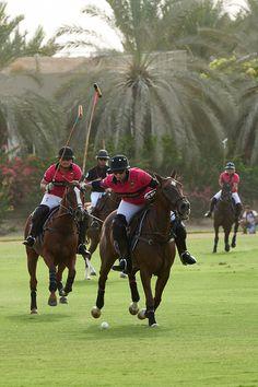 Ralph Lauren's second International Ladies Polo Tournament in Dubai