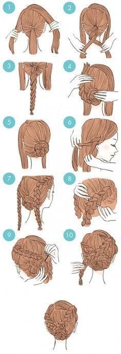 Mesdames, vous ne savez plus comment diversifier vos coiffures ? On a trouvé des tutoriels qui devraient vous donner des idées pour en tester des différentes tous les jours. Rassurez-vous, elles sont très simples à ... *** For more information, visit image link. #Hairstyles