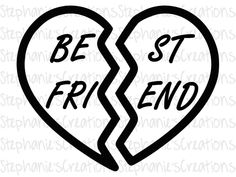 Excited to share the latest addition to my #etsy shop: Best Friend || SVG || DXF || PNG || Printable