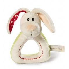 My First NICI - Ring Rattle Tilli Rabbit