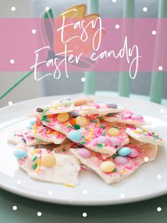 This Easter candy is fun to do with kids and it is super easy.