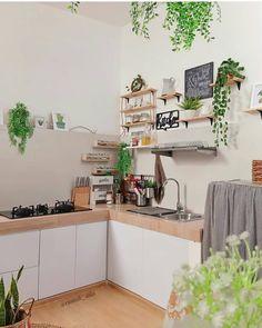 Love this . Kitchen Sets, Home Decor Kitchen, Kitchen Design, House Architecture Styles, Tiny House Loft, Diy Kitchen Storage, Stylish Kitchen, Natural Home Decor, Scandinavian Home