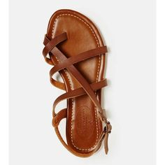 AEO Criss-Cross Sandal | American Eagle Outfitters ($29.95)