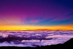 Mt. Haleakala Sunrise    10,000 ft above sea level! Best. sunrise. ever.