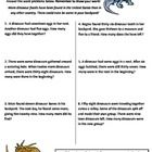This worksheet includes six word problems aligned to a Common Core Math Standard for second grade mathematics:     CCSS.Math.Content.2.OA.A.1 Use add...