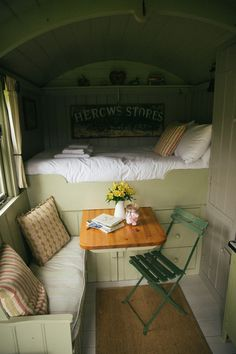 The Wriggly Tin - The Shepherd Hut (South Downs, London) Horse Box Conversion, Tyni House, Shepherds Hut, Gypsy Wagon, House On Wheels, Tiny Living, My New Room, Small Spaces, Sweet Home