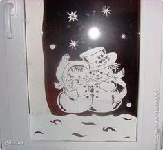 Мои оформленные окна на работе. Идею увидела здесь в СМ. У мастерицы в таком духе была оформлена комната. Я решила перенести эту идею на окно. фото 14