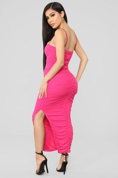 Feeling My Mesh Dress - Fuchsia – Fashion Nova Occasion Maxi Dresses, Tube Maxi Dresses, Maxi Dress With Slit, Tight Dresses, Sexy Dresses, Designer Party Dresses, Party Dresses Online, Prom Dress Shopping, Online Dress Shopping
