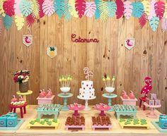 Festa Flamingo: 90 fotos + tutoriais para uma comemoração incrível Flamingo Birthday, Birthday Parties, Birthday Cake, Baby Shower, Party, Diy, Instagram, Mickey House, Tropical Party
