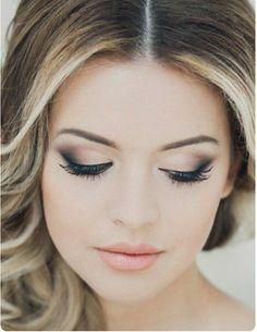 Amazing Wedding Makeup Tips – Makeup Design Ideas Fresh Wedding Makeup, Wedding Makeup For Brown Eyes, Natural Wedding Makeup, Wedding Hair And Makeup, Bridal Makeup, Natural Makeup, Bridal Hair, Natural Lips, Makeup For Brides