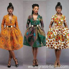 Here at Grass-fields we have an awesome range of African dress designs. Whether you're after an African print maxi or midi dress, we've got something for you. African Inspired Fashion, African Dresses For Women, African Print Dresses, African Print Fashion, Africa Fashion, African Attire, African Wear, Ethnic Fashion, African Women