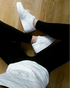 #nikes #justdoit #nikeair #white #sneakers
