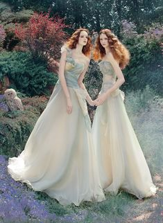 "♥ Romance of the Maiden ♥ couture gowns worthy of a fairytale -""Fantasy"" by Andrey & Lili, via @Behance"