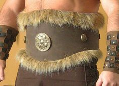 Medieval Celtic Viking Barbarian Leather by MorganasCollection