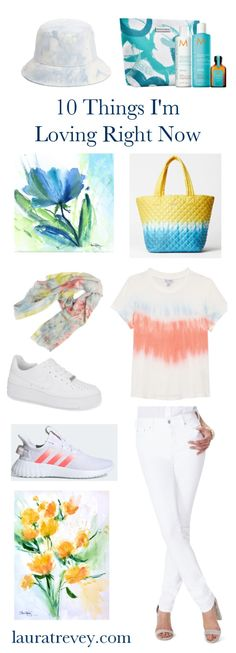 10 Summer Feeling Picks | Laura Trevey Lifestyle and Art