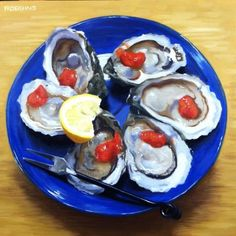 Wellfleet Oysters -- Nadine Robbins does mouthwatering.